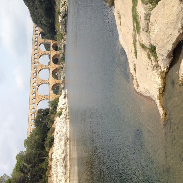 Paddeln zur Pont du Gard